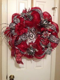 Gorgeous Christmas wreath!