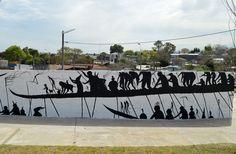 #StreetArt byDavid De La Mano - #Uruguay - #Montevideo