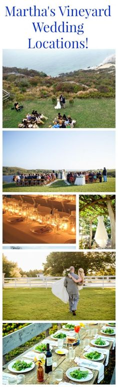 Wedding Venues On Martha's Vineyard - Preppy Wedding Style