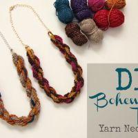 How-To: Bohemian Twist YarnNecklace