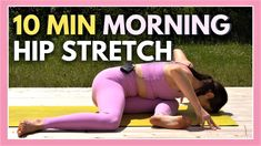 Morning Yoga Stretches, Morning Yoga Flow, Morning Yoga Routine, Flexibility Routine, Yoga For Flexibility, 10 Minute Morning Yoga, Youtube Workout Videos, Yin Yoga Sequence, Yoga For Stress Relief