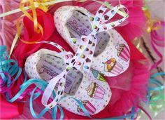 Birthday Cupcake Shoes!