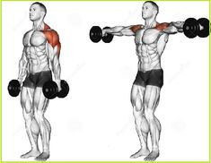 Dumbbell Lateral Raise Gym Shoulder WorkoutShoulder