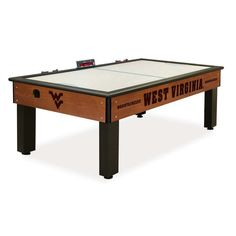 West Virginia Mountaineers Air Hockey Sports Table