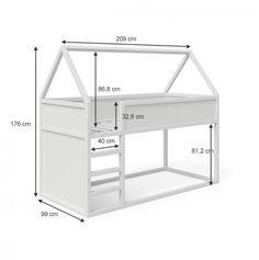 Cama Ikea Kura, Ikea Bunk Bed, Kura Bed, Toddler Floor Bed, Toddler Bunk Beds, Kid Beds, Childrens Cabin Beds, Cabin Beds For Kids, Cama Montessori Ikea