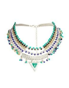ASOS Triangle Bead Necklace