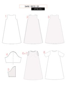 DIY maternity swing dress