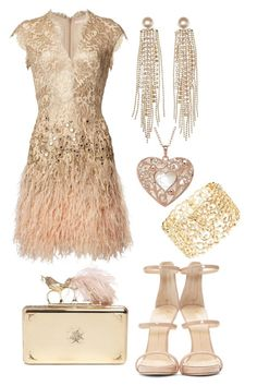"""""""Golden"""" by modernfashion101 on Polyvore featuring Giuseppe Zanotti, Alexander McQueen and Charlotte Russe"""