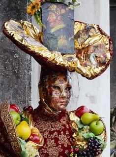 A costume of fruit from Venezia Carnevale 2015