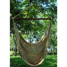 This is what I want for the front porch. love hammock chairs...
