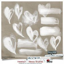Hearts 01 - Messy Brushes by Eirene Designs cudigitals.com cu commercial scrap scrapbook digital graphics#digitalscrapbooking #photoshop #digiscrap #scrapbooking