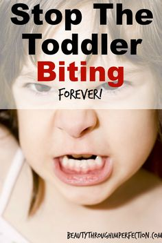 Easy way to stop toddlers biting. Parenting tips.
