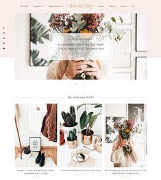 Adorable WordPress Theme | My Boutique Themes  WordPress Themes | Lifestyle Blog Theme | Fashion Blogger | GirlBoss   Blog Design | Feminine WordPress Theme | Pink WordPress Theme for Beauty   Bloggers #WordPressTheme #BlogDesignInspo #BlogDesign