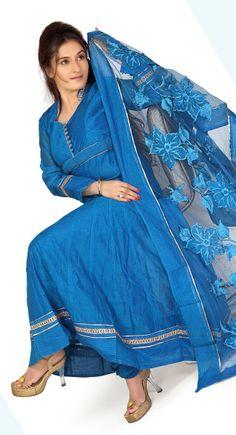 Majesty Sky Blue #Salwar #Kameez
