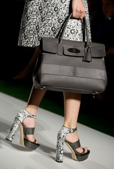 Spring Summer 2014: Mulberry Bayswater with Stripes