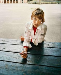 fragueci:    Linda Evangelista, Central Park, New York, 1993. Ph. Juergen Teller