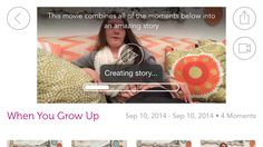 My favorite storytelling and movie app and it's free - @ouroneday #onedayapp