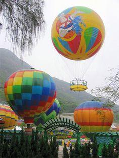 Skyfair Balloons at Ocean Park