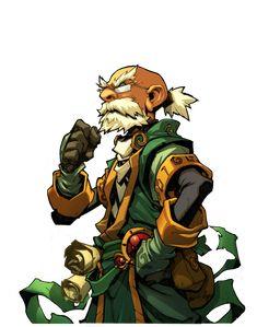 Joe Madureira art: Battle Chasers Nightwar in-game Knolan Portrait Fantasy Character Design, Character Concept, Character Art, Concept Art, Character Portraits, Comic Book Artists, Comic Artist, Comic Books Art, Joe Madureira