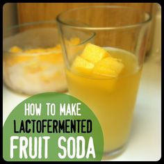 Lacto-Fermenting Soda | Part Two: Basic Fruit Soda