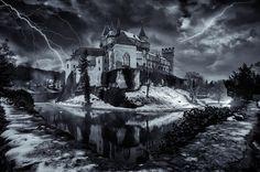 haunted castle by Karol Važan