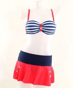 $9.09 (Buy here: https://alitems.com/g/1e8d114494ebda23ff8b16525dc3e8/?i=5&ulp=https%3A%2F%2Fwww.aliexpress.com%2Fitem%2FCutest-Female-Skirt-Bottom-Bikini-Ladies-Striped-Bra-Bikini-Set-Super-Push-Up-Girls-Biquini-Hot%2F32738576483.html ) Cutest Female Skirt Bottom Bikini Ladies Striped Bra Bikini Set Super Push Up Girls Biquini Hot Swimwear Women's Split Swimsuit for just $9.09