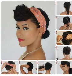 Quick & Easy styles - Natural Hair