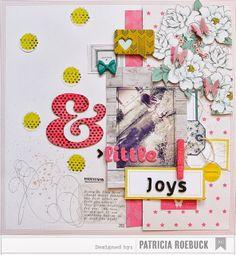 Roebuck Adventures: Little Joys | American Crafts Dear Lizzy Polka Dot Party