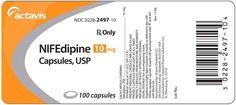 Nifedipine Ischemic Heart Disease, Cardiovascular Health, Medicine, Medical