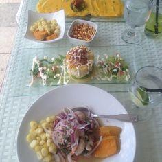 Ceviche peruvian style