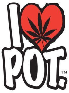 I heart marijuana