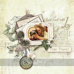 Time Travel - Un magnifique kit de style vintage pour mettre en valeur vos plus belles photos souvenir  Ce produit inclus :  - 10 Papiers divers, format JPG, 3600px/3600px, 300 dpi - Plus de 65 éléments uniques, format .png (fleurs, feuillages, rubans, cadres, napperon, éventails, dentelle, perles, livre, ... )  Ce produit est réservé à un usage personnel, Pensez à consulter le TOU Retrouvez-moi sur @ Facebook : http://bit.ly/1pyDNd4 NE MANQUEZ AUCUNE NOUVELLE, ABONNEZ VO...