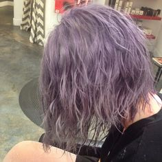 love this color~ purple hair Hair Color Purple, Blue Hair, Coloured Hair, Aesthetic Hair, Aesthetic Grunge, Dye My Hair, Crazy Hair, Pretty Hairstyles, Hair Goals