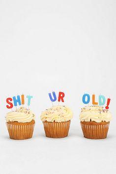 Happy Birthday Candle - Set Of 10 _ 30th Birthday ideas