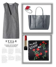 """""""shade of gray"""" by saturn43210 on Polyvore featuring STELLA McCARTNEY, Lanvin, Lancôme and Allurez"""