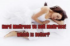 Hard Mattress Vs Soft Mattress – Which Is Better?  http://www.bewellbuzz.com/body-buzz/hard-mattress-soft-mattress/  #FreshFit #Sleep #GoodSleep #SleepBetter #Sleeping #Mattress