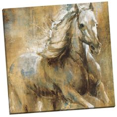Shop for Portfolio Canvas Decor Taylor 'Boundless Beauty' Framed Canvas Wall Art. Get free delivery On EVERYTHING* Overstock - Your Online Art Gallery Store! Get in rewards with Club O! Canvas Art Prints, Painting Prints, Canvas Wall Art, Framed Canvas, China Painting, Painting Art, Framed Wall, Horse Oil Painting, Equine Art