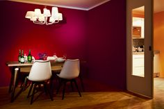 """""""Hello World! Bring your entourage Part II: Urban living in Frankfurt  When you open the door to your new one-bedroom apartment, you will find a lovingly selected collection of furniture, colorful walls and a stylish environment with a touch of extravagance.""""  Pictures: Mara Monetti"""