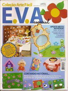 Artesanato com amor...by Lu Guimarães: Revista Arte Fácil EVA n4