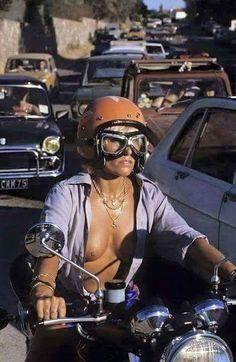 bikes-n-girls: Biker girl Lady Biker, Biker Girl, Girl Motorcycle, Harley Davidson, Up Auto, Chicks On Bikes, Hot Bikes, N Girls, Honda Cb