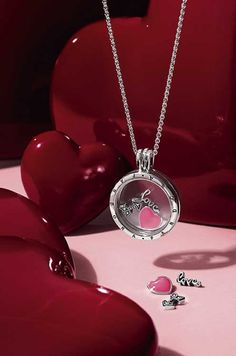 Design your own PANDORA locket - featuring the Love Feelings Petite charms!