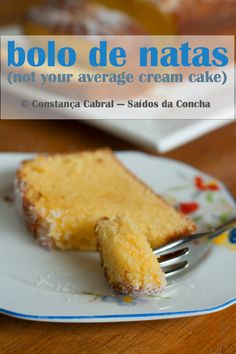 Saídos da Concha: Bolo de Natas :: (Not Your Average) Cream Cake Other Recipes, Sweet Recipes, Cake Recipes, Dessert Recipes, Food T, Food And Drink, Yummy Food, Cooking Time, Cooking Recipes