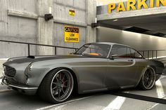 Volvo P1800. Sort of Chip Foose meets James Bond, but still pretty cool.