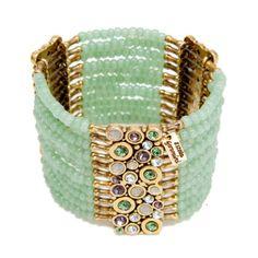 Super Suave Tons Pastel:  Bracelete Jade - Estela Geromini