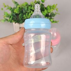 120ML Newborn Baby Infant Nursing Milk Feeding Bottle Standard Mouth Silicone Fruit Juice Water Medicine Nipple Pacifier