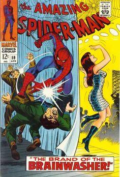 Amazing Spider-Man # 59 by John Romita