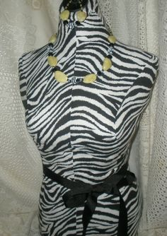 Decorative dress form Zebra countertop mannequin jewelry making display  sale