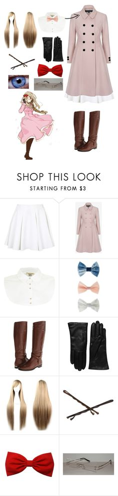 """""""Hetalia Monaco Outfit"""" by ender1027 ❤ liked on Polyvore featuring Topshop, French Connection, River Island, Accessorize, Burberry, Saks Fifth Avenue Collection and Goody"""