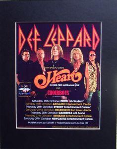 Def Leppard: 27 October 2011, Brisbane Entertainment Centre.