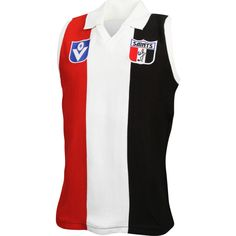 St Kilda Saints 2015 Woollen Guernsey Australian Football, Saints Football, Guernsey, St Kilda, Jumper, Wool, Retro, Sleeve, Manga
